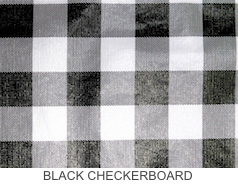 Black Checkerboard - Prices Starting At $24.99 & Up